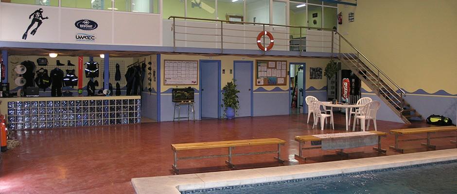 Centro de buceo en Algeciras Caetaria, Actividades Subacuáticas